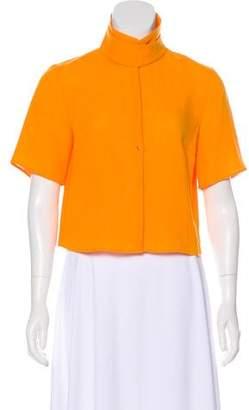 Akris Short Sleeve Linen Top w/ Tags