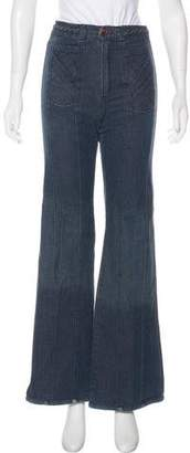 Grey Ant High-Rise Wide-Jeg Jeans