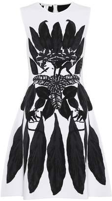 Oscar de la Renta Printed sleeveless dress