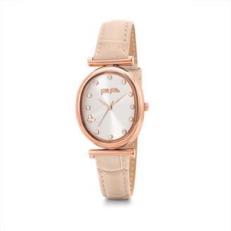 Folli Follie (フォリフォリ) - Wonderfly Oval Case Leather Watch