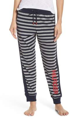 Tommy Hilfiger Striped Thermal Jogger Pants