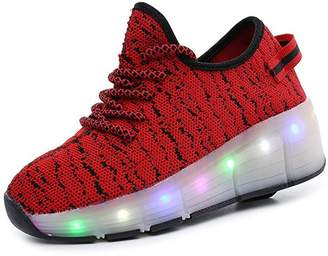 Heelys A2kmsmss5a unisex led kids adult sneakers roller skated outer sport ( -)