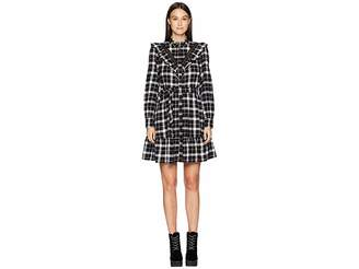 Kate Spade Broome Street Rustic Plaid Flannel Dress