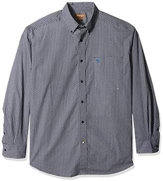 Ariat Men's Big and Tall Classic Fit Long Sleeve Button Down Shirt