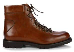 Saks Fifth Avenue Leather Hiker Boots