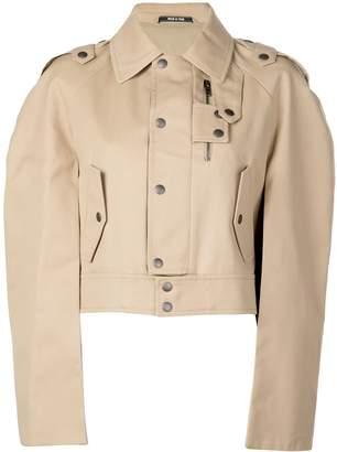 Maison Margiela cropped trench jacket