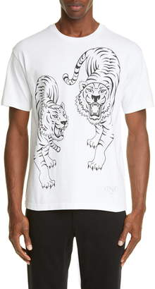 Kenzo Double Tiger Graphic T-Shirt