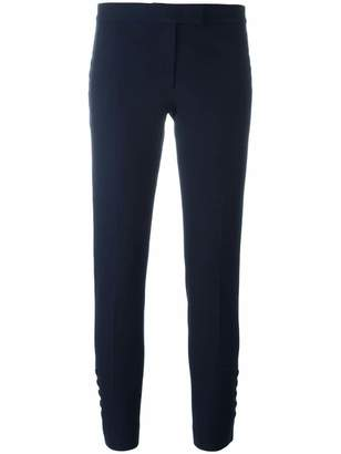 Joseph buttoned detail cropped trousers