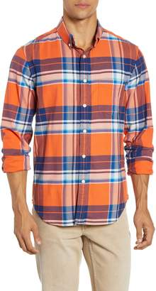 Chubbies The Come Out And Plaid Button-Down Shirt