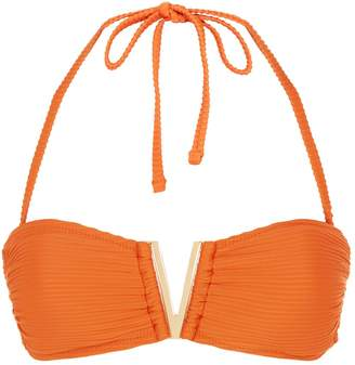 Heidi Klein Casablanca V Bandeau Bikini Top