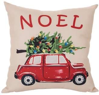 Glitzhome Noel Car Pillow Cover