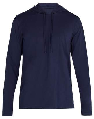 Polo Ralph Lauren Hooded Cotton Pyjama Top - Mens - Navy