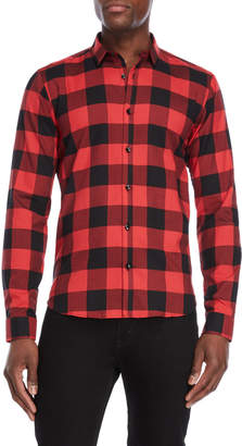 Jared Lang Checked Print Shirt
