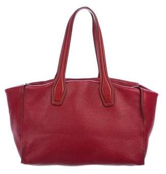 Tod's Large Pebbled Leather Tote