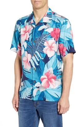 Tommy Bahama Hibiscus Hues Silk Shirt