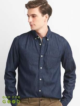 Denim pocket shirt