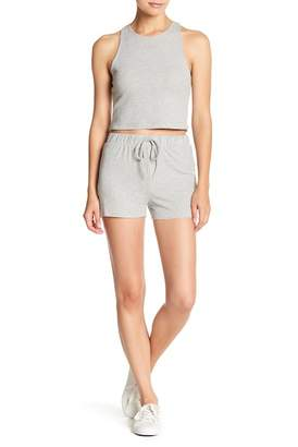 EMORY PARK Ribbed Knit Soft Shorts