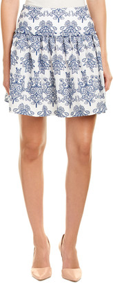 Nicholas N Embroidered A-Line Skirt
