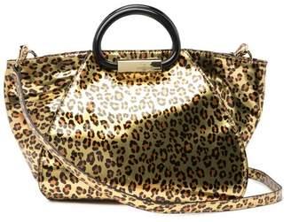 Christian Siriano New York Karlie Animal Print Tote Bag