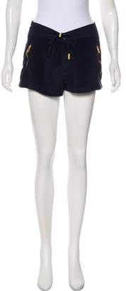 Tory Burch High-Rise Mini Shorts