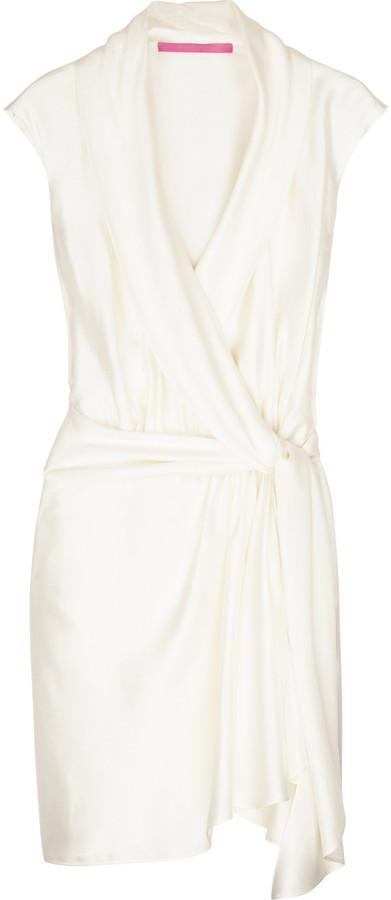 Emanuel Ungaro Wrap front dress