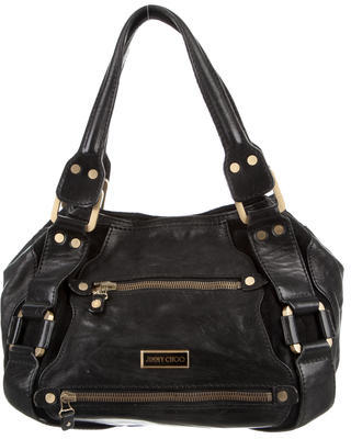 Jimmy ChooJimmy Choo Leather & Suede Mahala Bag