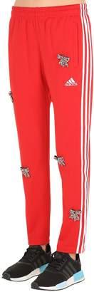 Embellished Bows Vintage Track Pants