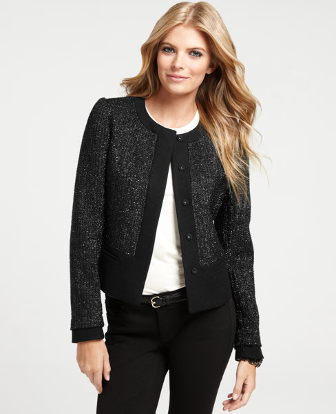 Shimmer Tweed Jacket