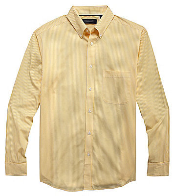 Roundtree & Yorke Big & Tall Bengal Striped Sportshirt