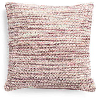 Made In India 22x22 Clara Shimmer Textured Pillow