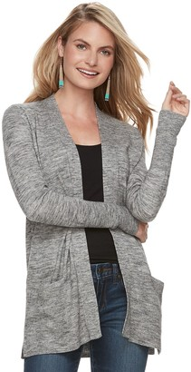 e278a2c5f16 Sonoma Goods For Life Women s SONOMA Goods for Life Ribbed Cardigan