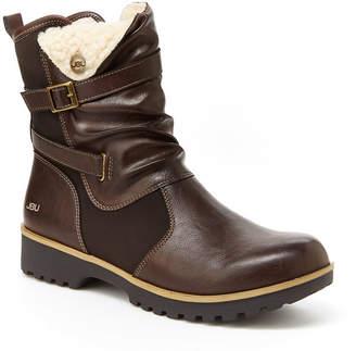 Jambu J Sport By Womens Evans Water Resistant Winter Boots Flat Heel Zip