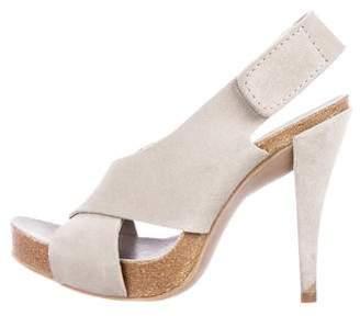 Pedro Garcia Crossover Platform Sandals w/ Tags