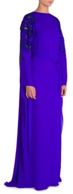 Emilio Pucci Embroidered Caftan Gown