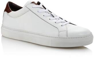 To Boot Men's Knox Leather Low-Top Sneakers