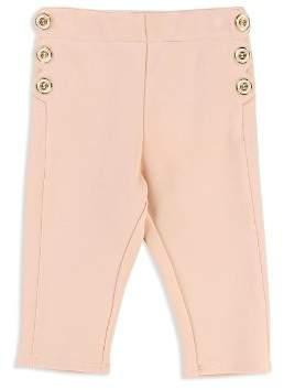 Chloé Girls' Scalloped Detail Milano Pants - Baby