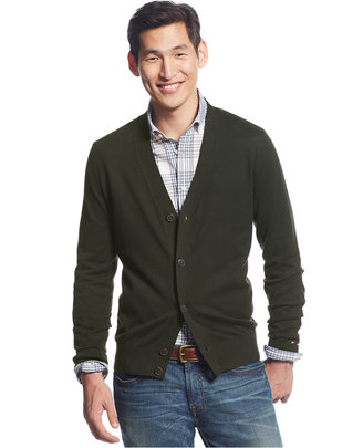 Tommy Hilfiger Signature Solid Cardigan $49.98 thestylecure.com