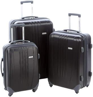 Traveler's Choice 3-Piece Tunisia Rolling Luggage Set