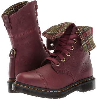 Dr. Martens Aimilita 9-Eye Toe Cap Boot Women's Lace-up Boots