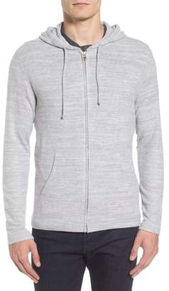 Velvet by Graham & Spencer Modern Trim Zip Hoodie