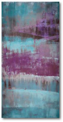 Courtside Market Wall Decor Purple Rain Ii Gallery Wrapped Canvas Wall Art