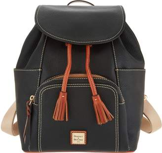 Dooney & Bourke Pebble Leather Large Murphy Backpack