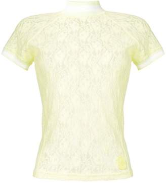 Alexander Wang floral lace top