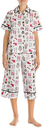 Kate Spade Long Graphic Pyjama Set