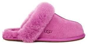 UGG Scuffette Suede Sheepskin Slippers