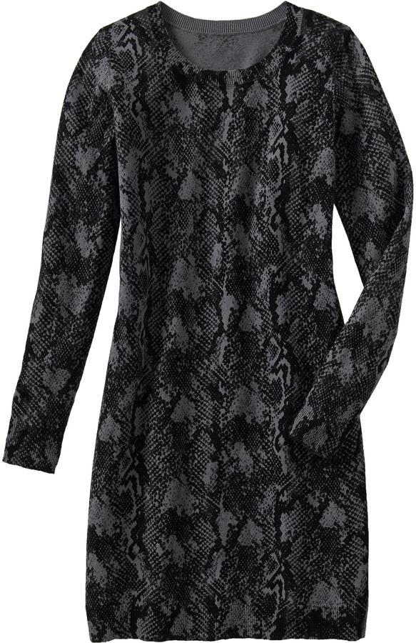 Old Navy Women's Snakeskin-Print Sweater Dresses