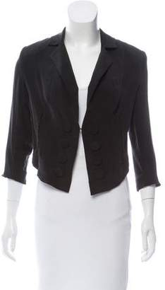 Madison Marcus Silk Crop Jacket