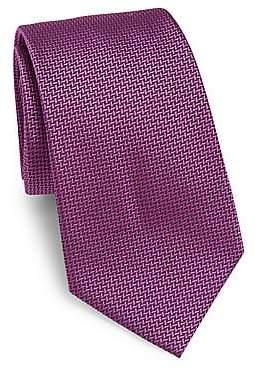 Armani Collezioni Men's Textured Silk Tie