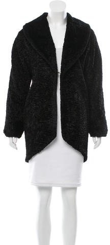 Alice + Olivia Alice + Olivia Persian Lamb Short Coat