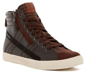 Diesel D-Velows D-String Leather High-Top Sneaker